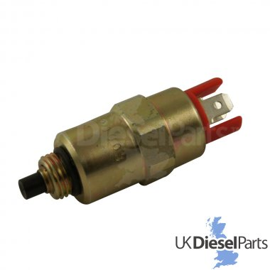 Stop Solenoid 24V - 7180-49D - Fits Multiple Applications