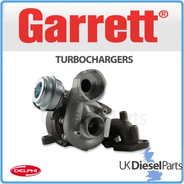 Garrett Remanufactured Turbocharger - 720855-0006
