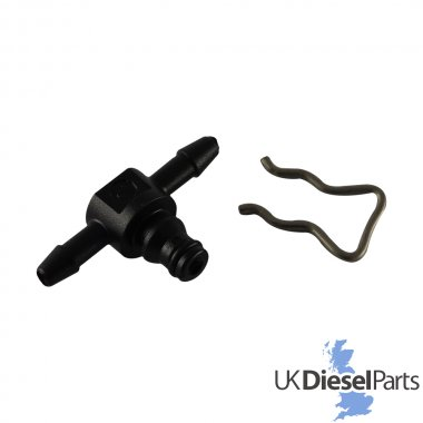 LEAK OFF PIPE CONNECTOR 3 PIECE KIT BOSCH COMMON RAIL